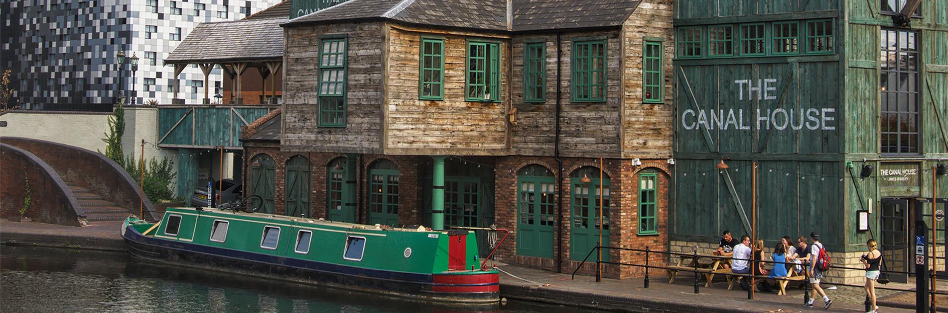 Quay in Birmingham