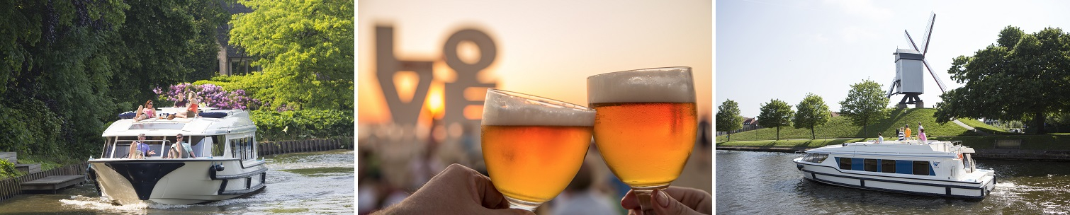 Riverboats and beer in Germany