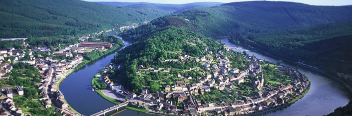 Riverbend in the Ardennes