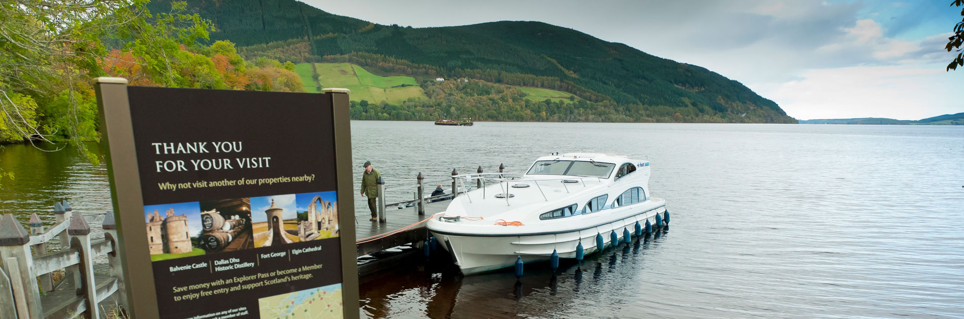 Riverboat in Scotland