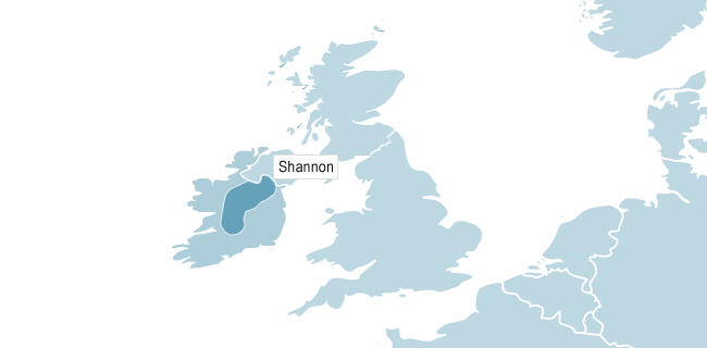 Map of Shanon