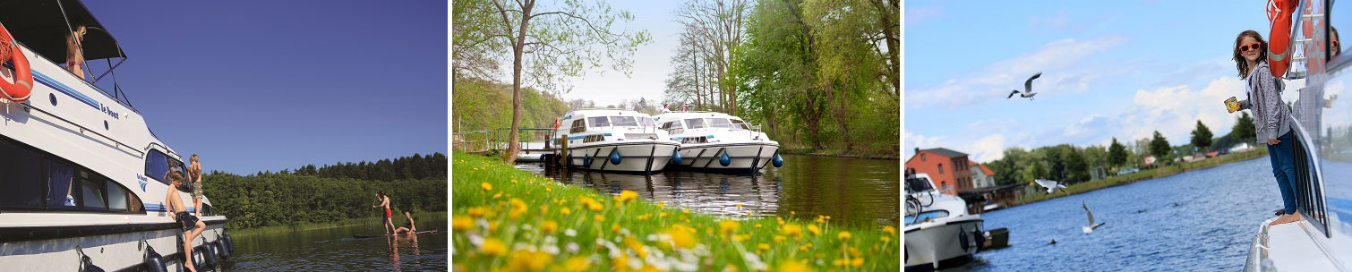 Riverboats in Germany